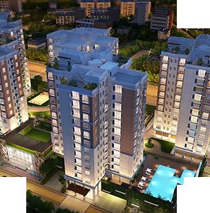 3 bhk flat in rajarhat